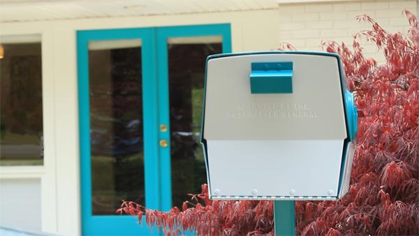 Vintage Mailbox & Door