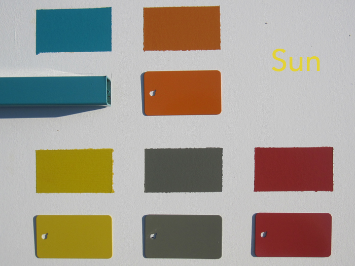 Modbox color analysis and matching mid century modern for Eichler paint colors